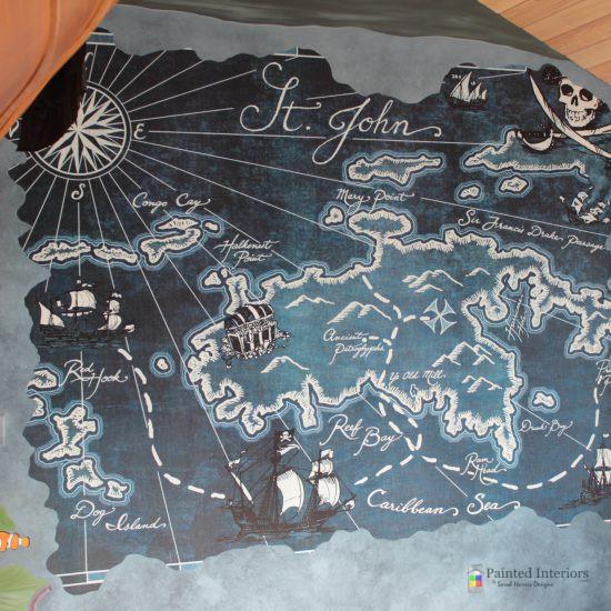 wallpaper treasure map