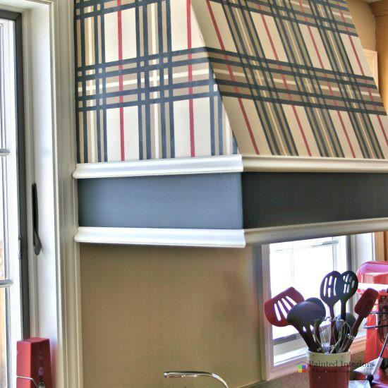 burberry plaid inspired design